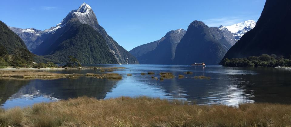 See the beautiful Milford Sound without needing to drive into this very remote area.
