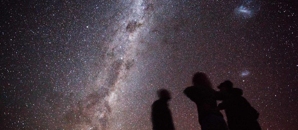 Enjoy incredible Fiordland night sky