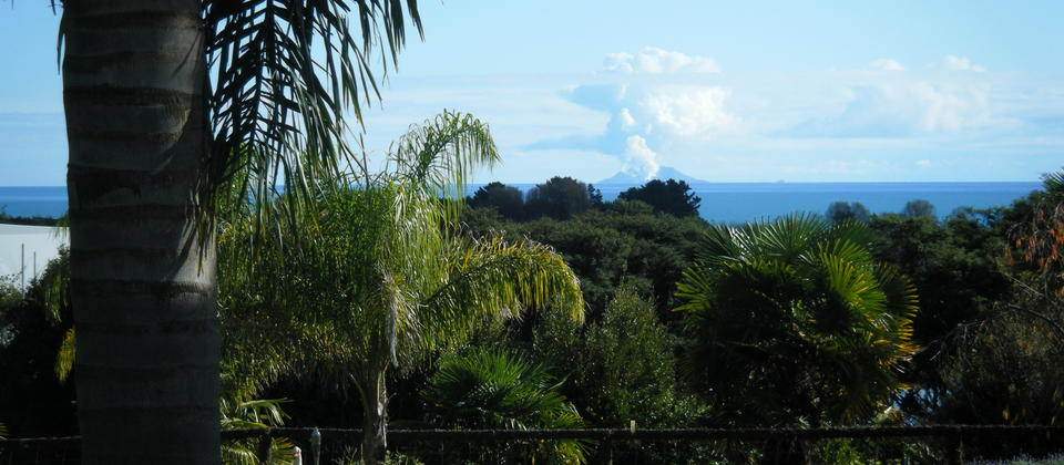 view of White Island from