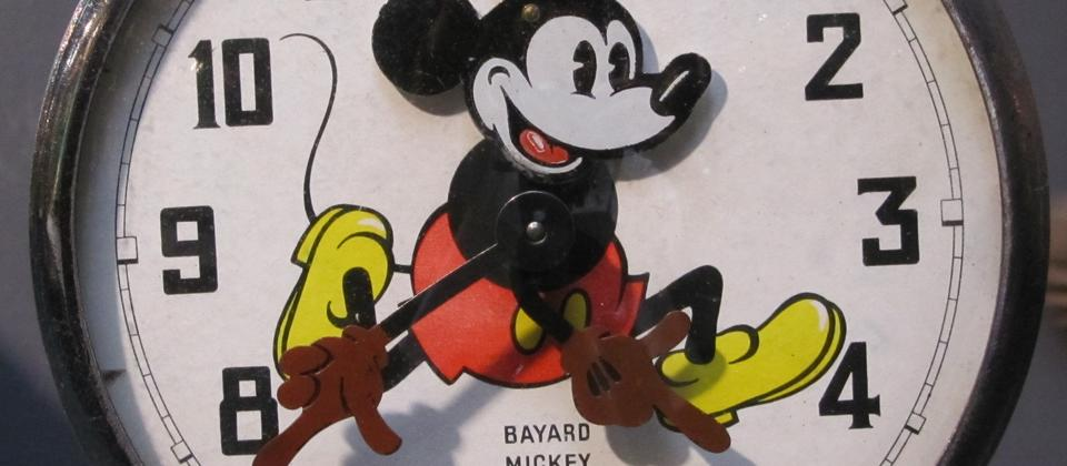 Micky Mouse Clock from collection