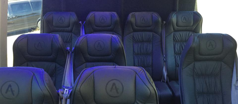 Leather Interior for Mercedes Sprinter - 10 Pax