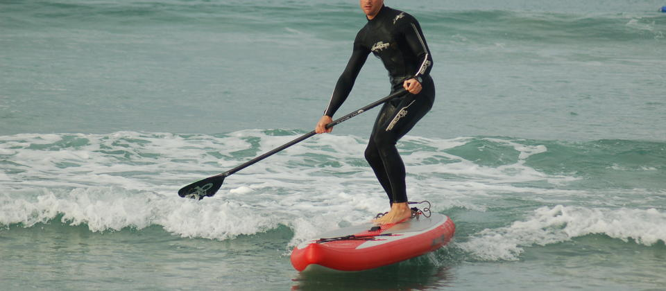 Stand Up Paddle Surfing Easy As with Stand Up Takapuna.