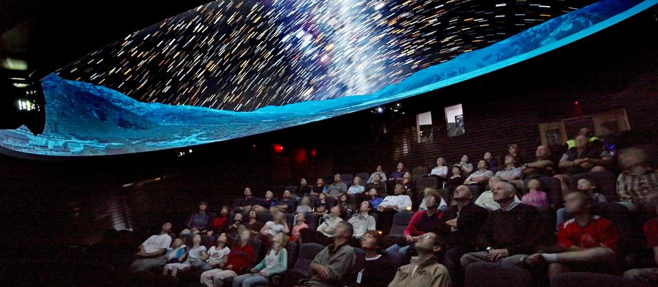 Begin the Big Sky Stargazing tour with an introduction and orientation in the comfort of our Theatre Planetarium, using a special live Digital Sky presentation highlighting unique features in our southern sky.