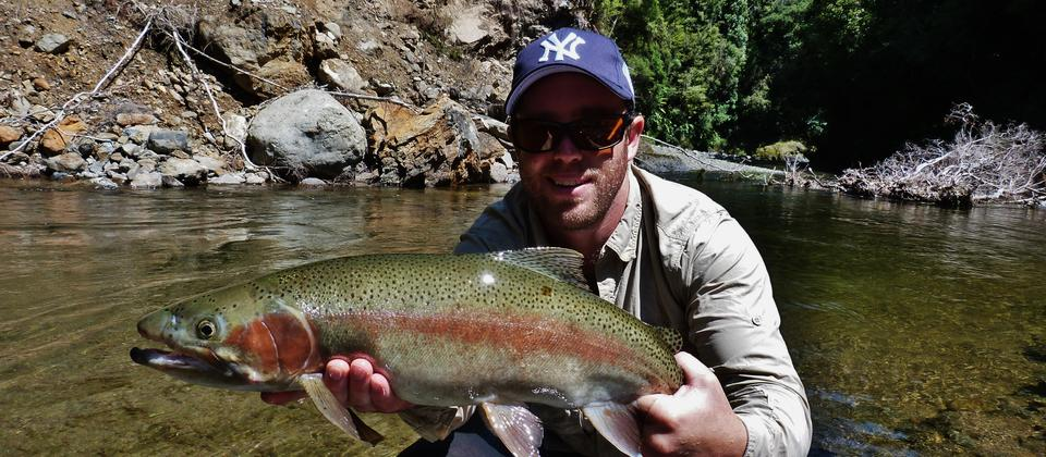 Wilderness dry fly fishing
