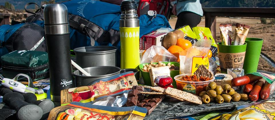 Hiking food and gear is delivered to your hotel prior to you starting your walk for you to carry it with you.