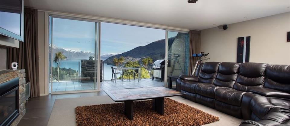 Large living room with beautiful views
