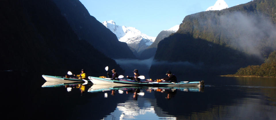 On reflection - Doubtful Sound