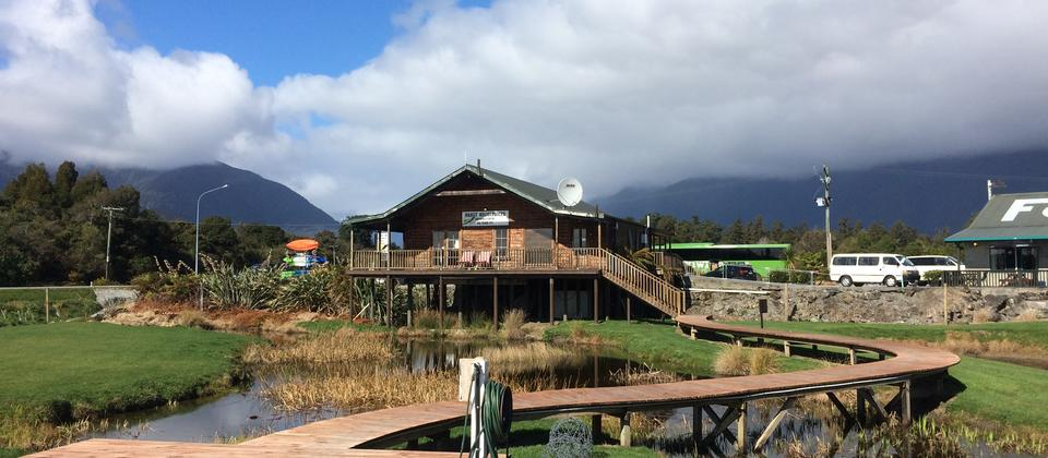 Haast Heli base is situated close to local restaurants and bars
