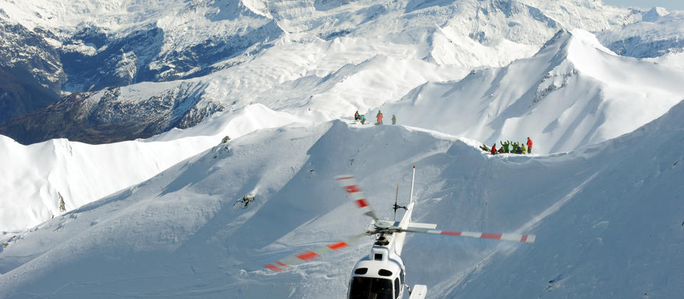 Powered by Alpine Helicopters