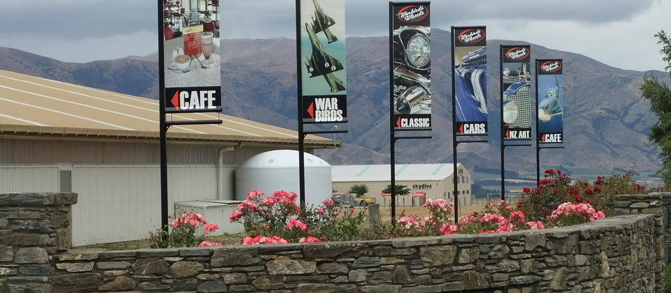 Warbirds & Wheels is located at Wanaka Airport