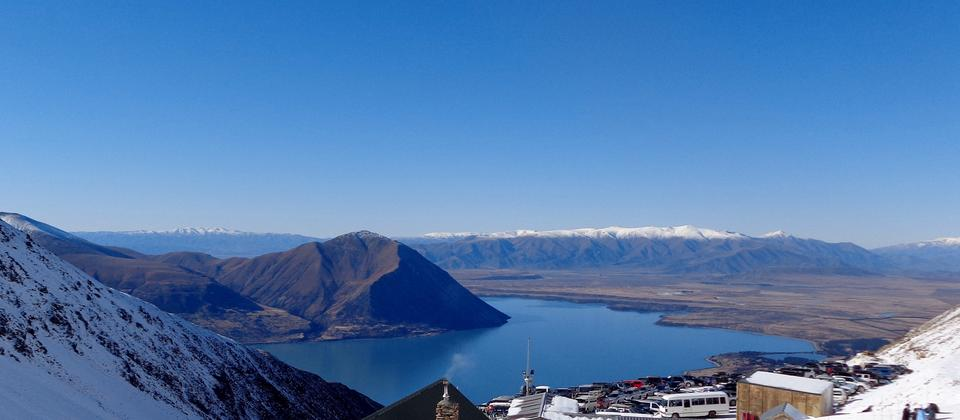 Lake Ohau view, Otago