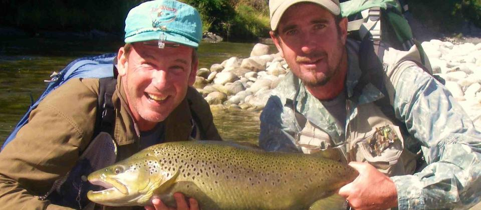Wow, Monster Brown trout