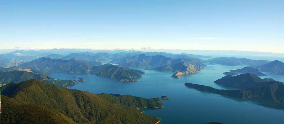 The Marlborough Sounds - a haven for nature lovers and adventurers.