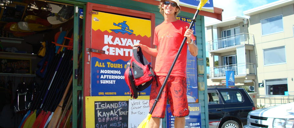 Meet Dan the Kayak man- 17 years in the business.