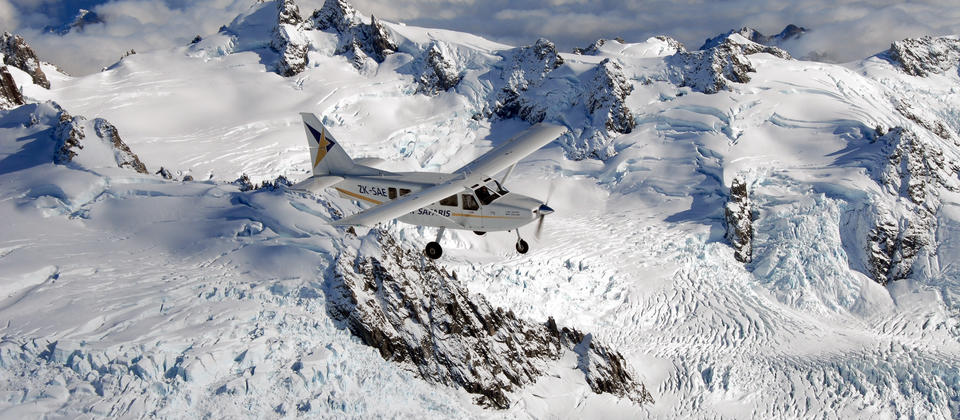 Experience New Zealand's spectacular alpine scenery on the flight of a lifetime!