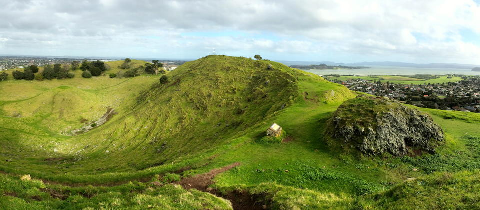 Mangere Mountain Crater