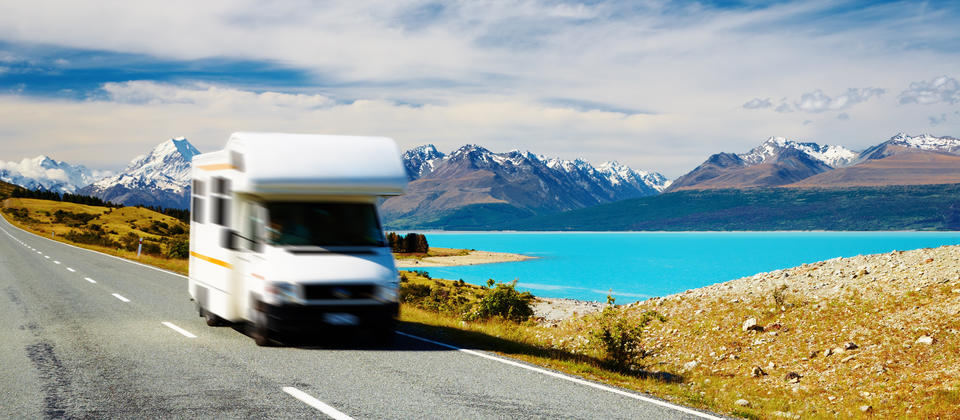 Free campervan hire in New Zealand