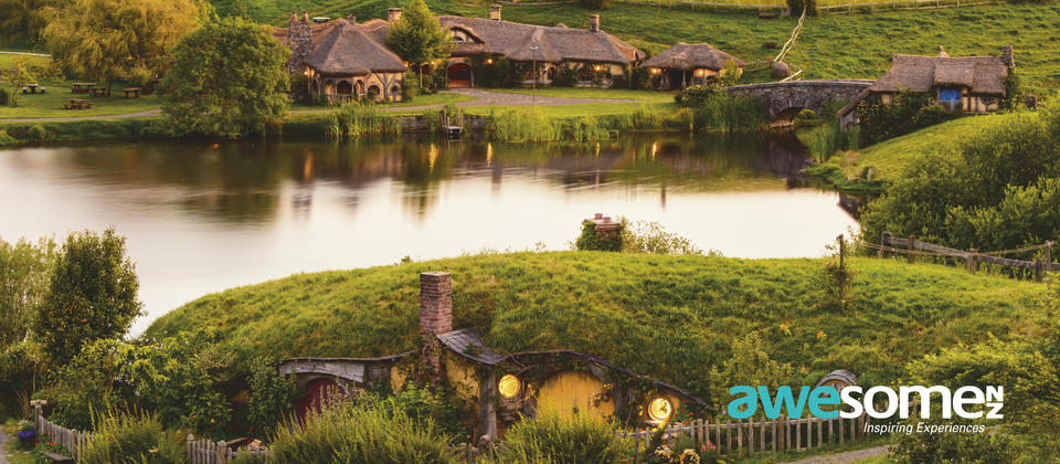 Enjoy spectacular views of Hobbiton Movie Set