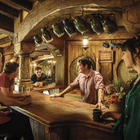 Inside the Green Dragon at Hobbiton