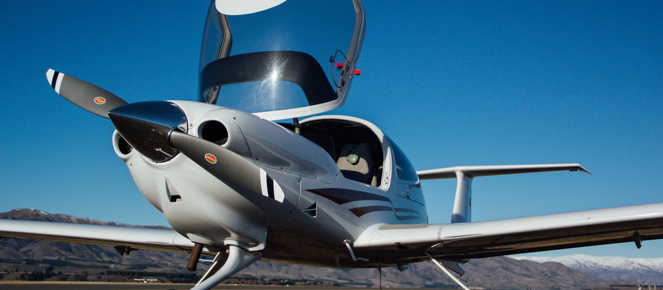 Diamond DA40 Trial Flight