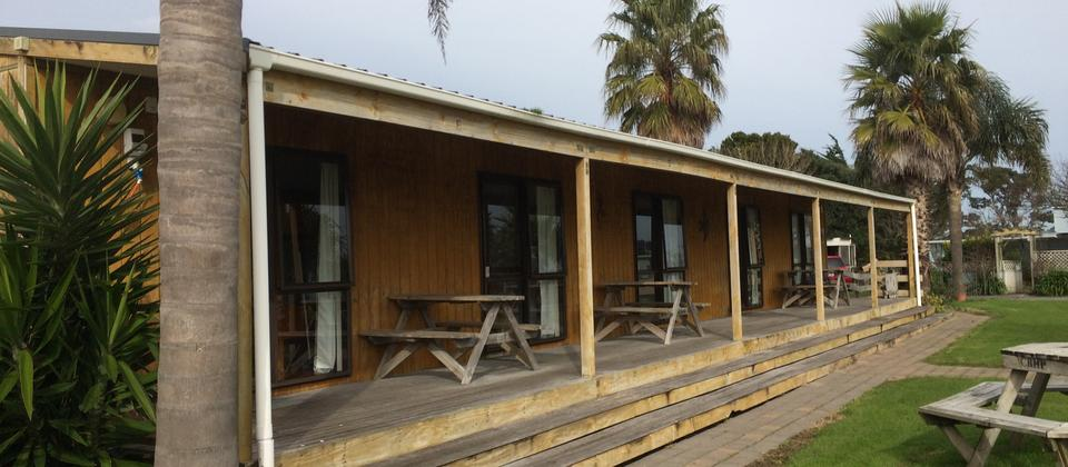 Basic cabins from $80 for 2 per night.