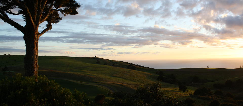 Sunrise at The Lodge at Kauri Cliffs