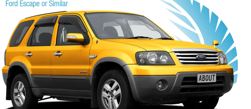 Economy 4x4 - Ford Escape or Similar. About New Zealand Rental Cars.