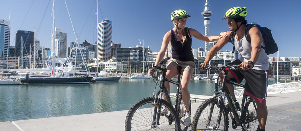 Cycling in Auckland City