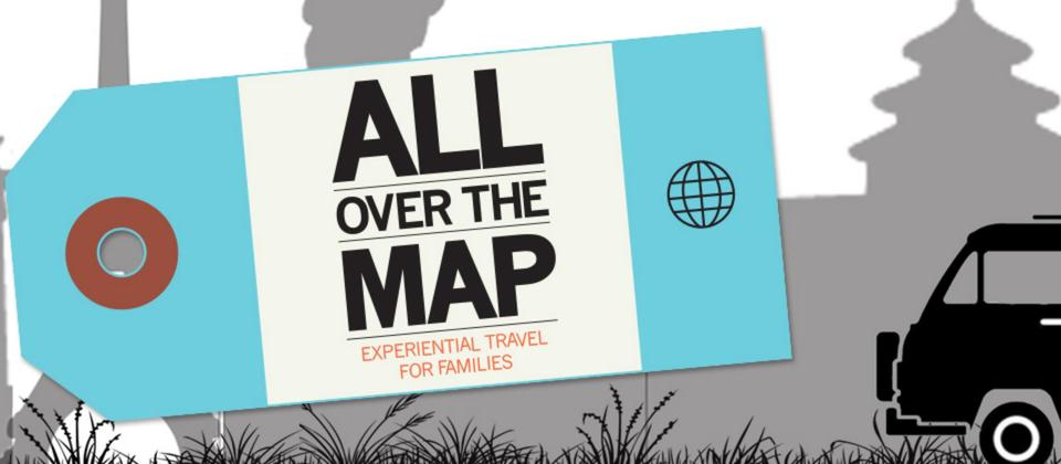 Find your next adventure with All Over the Map