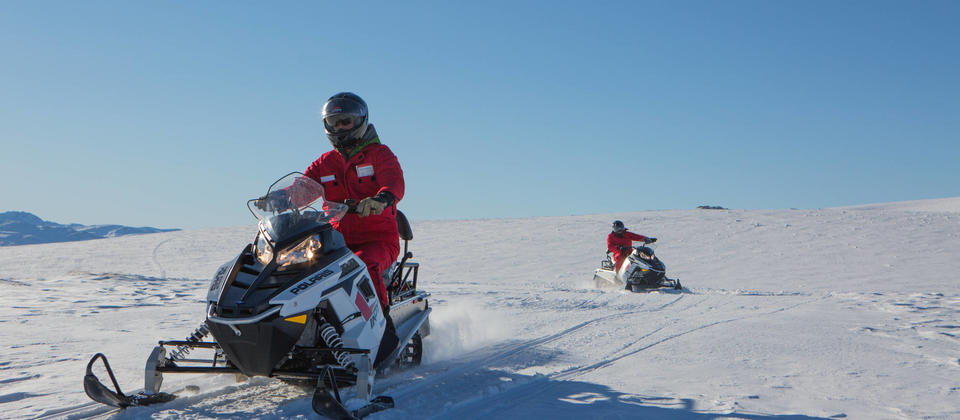 Join New Zealand's only backcountry, wilderness snowmobile adventure!