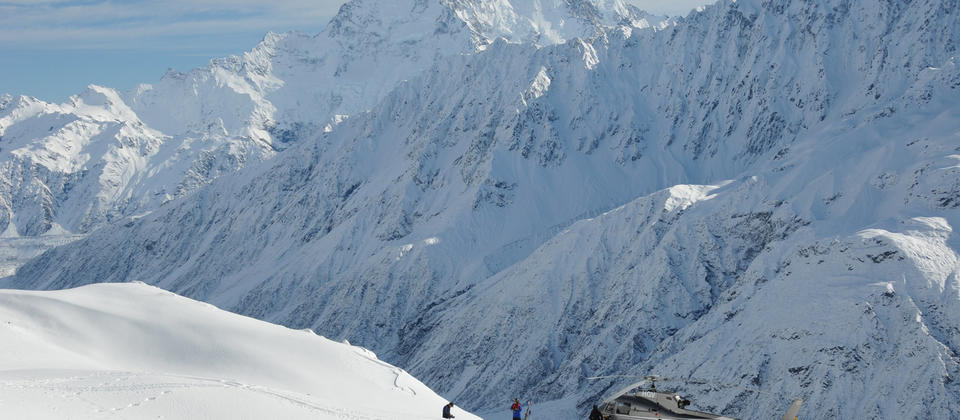 NZ's highest heliski landings