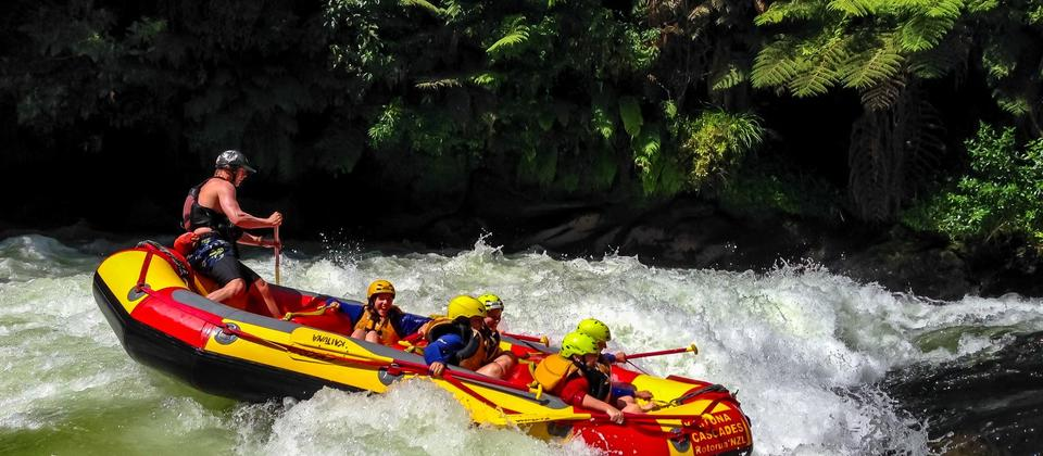 White Water River Rafting with Kaituna Cascades