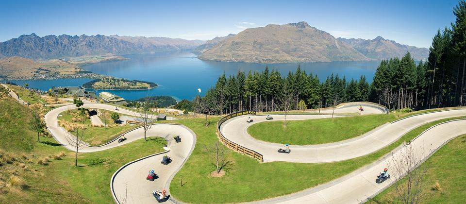 Skyline Queenstown Luge