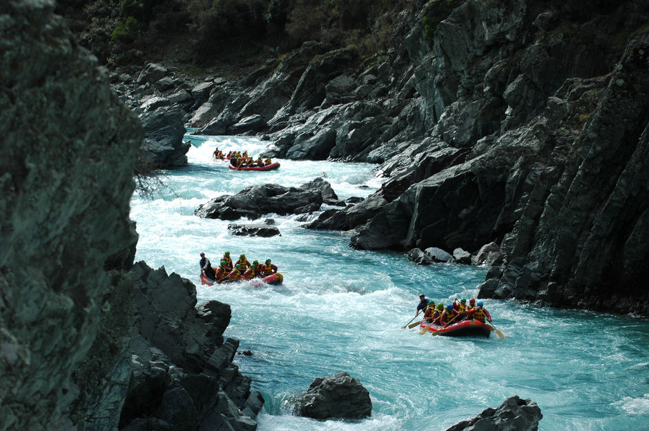 Experience the thrills of the Rangitata River in South Canterbury