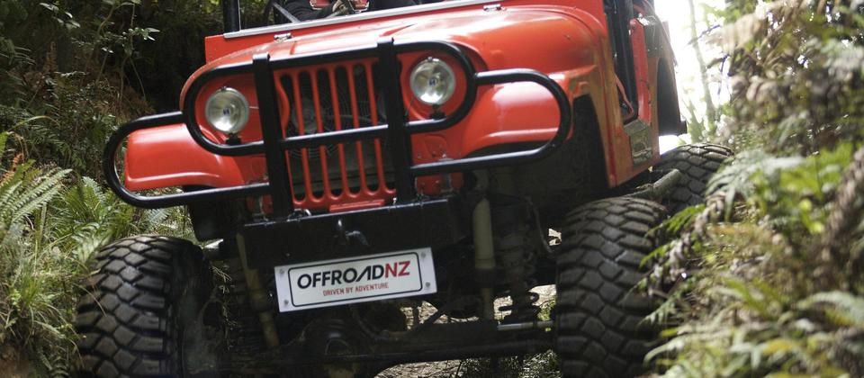 Off Road NZ Monster 4X4 Thrill Ride