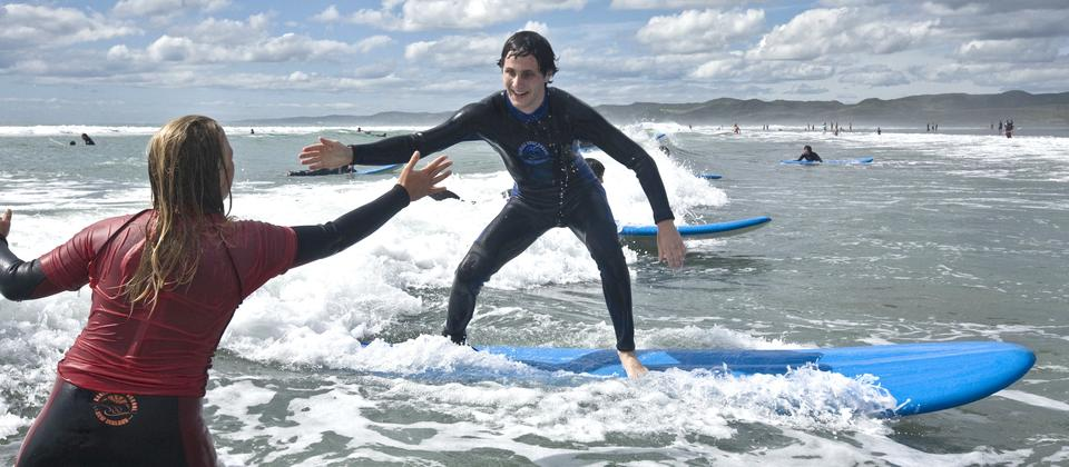 Surfing High Five!!