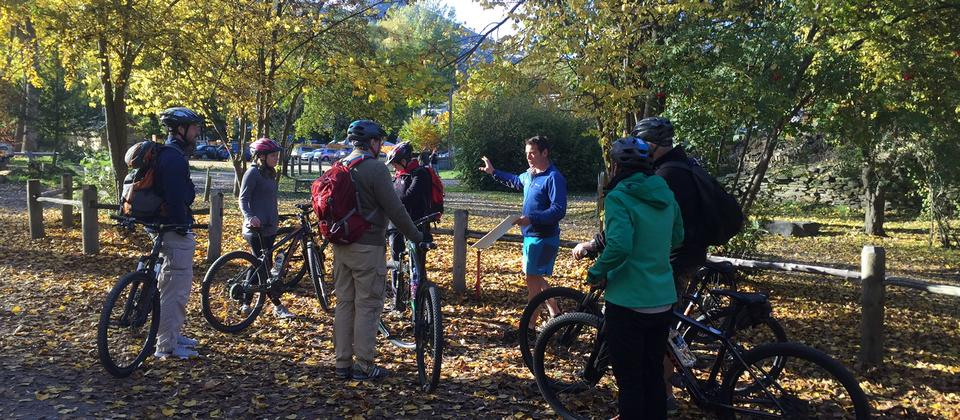 Bike The Wineries - tour briefing