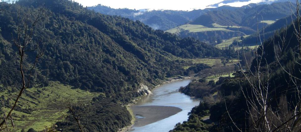 The beautiful Whanganui River Valley is like stepping back in time.