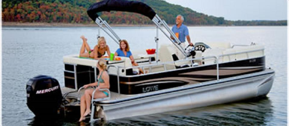 6 seater - Self Drive Pontoon Boat