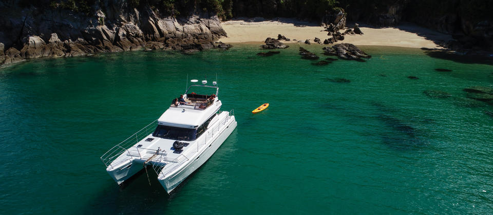 Guided Abel Tasman day trips into the heart of the Abel Tasman