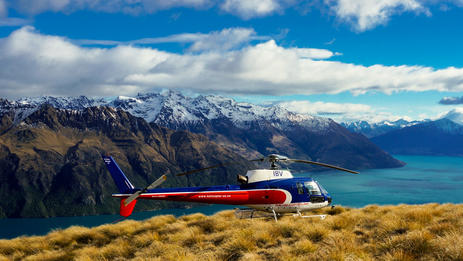 Take to the air for the best views of Queenstown and the Southern Alps