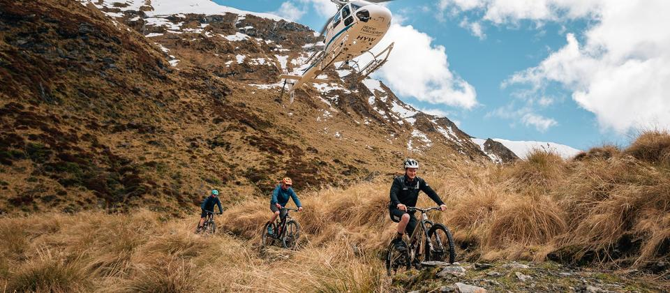 Southern Lakes Helibike provides one of New Zealand's most unique mountain biking experiences.