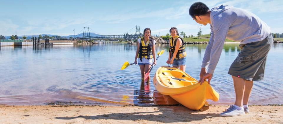 Pegasus Lake - family fun at the Lake, North Canterbury