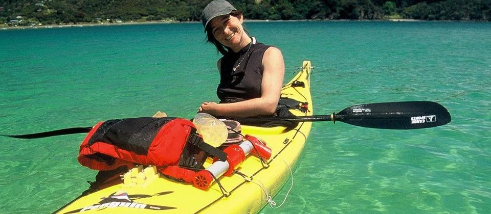 Sea Kayaking in tranquil warm waters