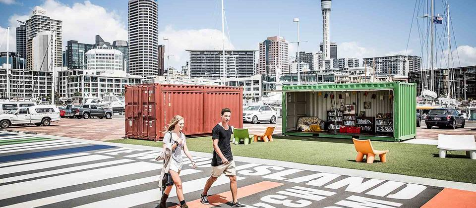 Explore Auckland's trendy Viaduct and Wynyard Quarter precincts