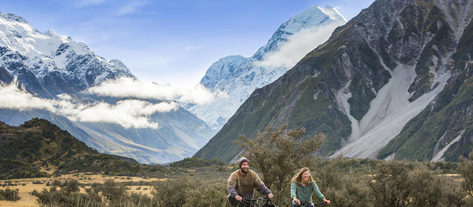 Stay in Mount Cook National Park - an exclusive Stray stop