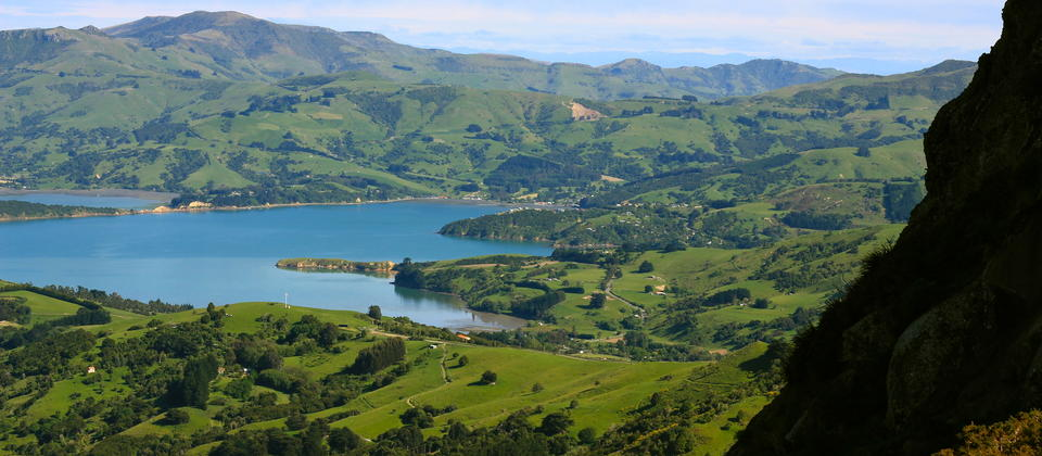 Akaroa Harbour.