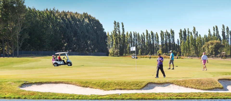 Pegasus International Golf Course and Driving Range, Waimakariri, North Canterbury