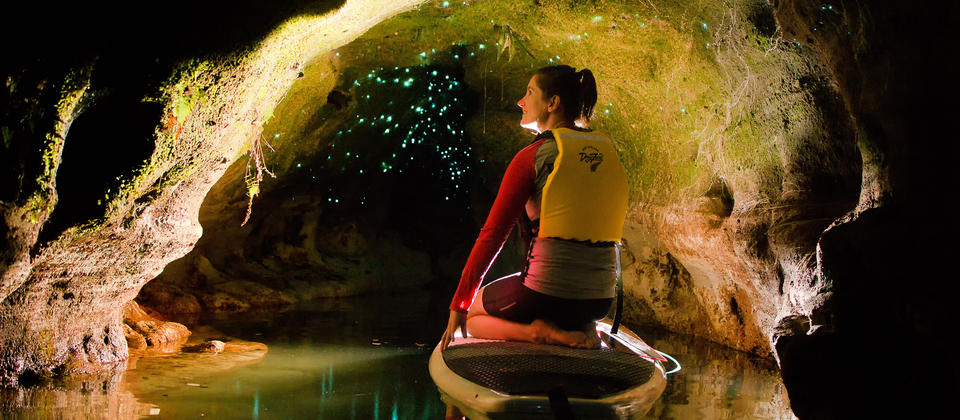 Amazing Glowing Caves