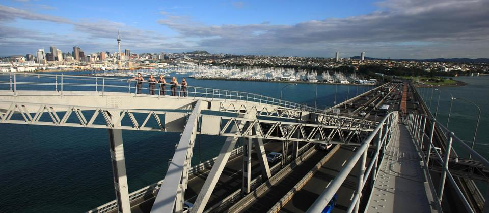 Auckland Bridge Climb and Bungy - AJ Hackett